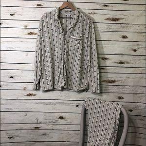 💥2 for $20💥 Liz Claiborne Pajama Set / XL